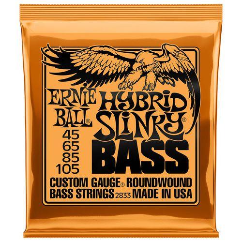ENCORD. ERNIE BALL P/ BAIXO 4 CORDAS 045-105 HY SLINKY 2833