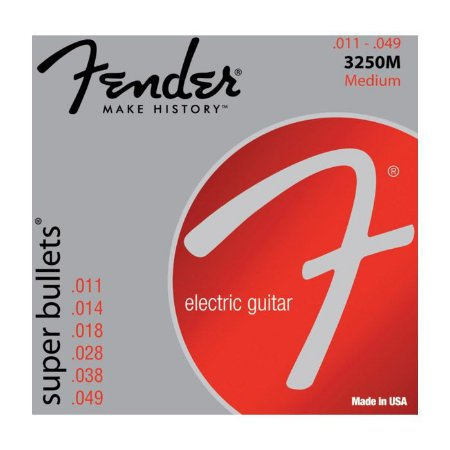 ENCORD.FENDER GUITARRA 0.11 SUPER BULLETS 3250M