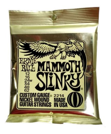 ENCORDOAMENTO CORDA ERNIE BALL GUITARRA 012 MAMMOTH 2214
