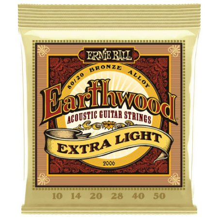 ENCORD. ERNIE BALL VIOLÃO ACO  010 EARTHWOOD  2006