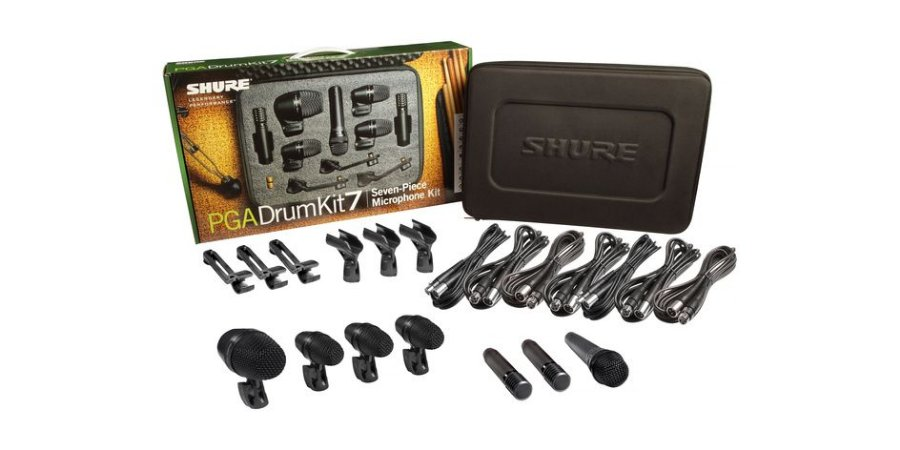 Kit De Microfone Para Bateria Pga-drum-kit7 (7 Peças) Shure