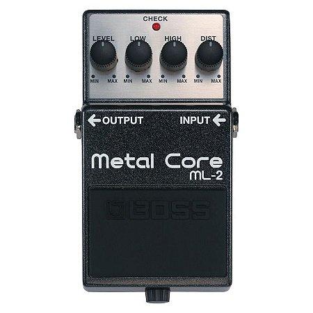 Pedal Boss Metal Core Guitarra Ml-2 | Com Garantia E Nfe