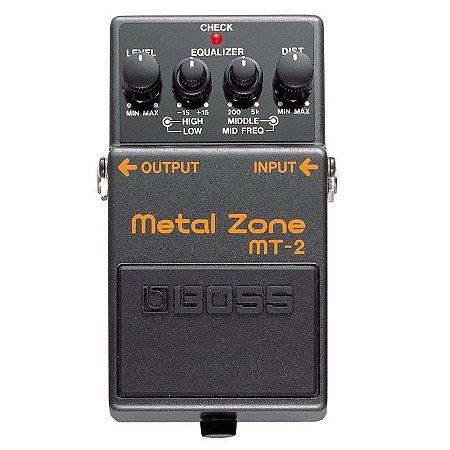 Pedal Boss Mt2 Metal Zone Mt-2