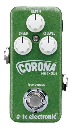 Pedal Corona Mini Chorus - Tc Electronic