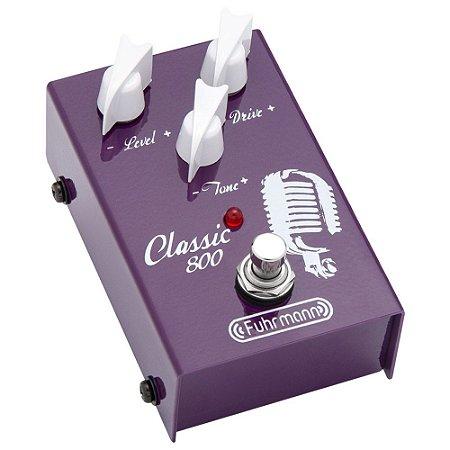 Pedal Fuhrmann Classic 800 Overdrive Classico - Guitarra Nf