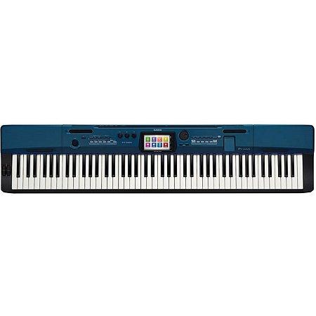 Piano Digital Casio Privia Px560 Azul c/ Fonte Pedal sutain