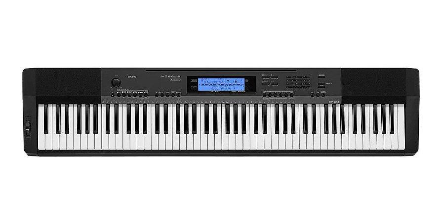 PIANO CASIO STAGE DIGITAL PRETO CDP 235