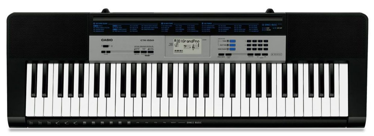 TECLADO CASIO DIGITAL CTK 1550