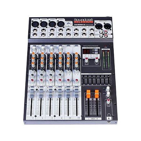 Mesa Som Soundcraft Sx802 Fx - Usb - 16 canais