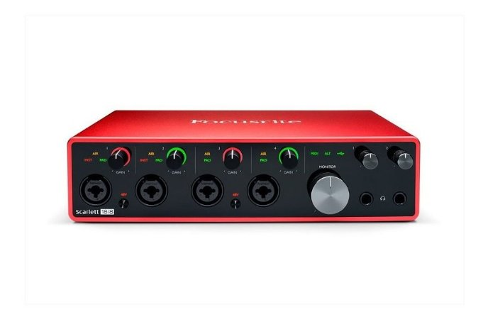 Interface De Audio Focusrite Scarlet 18i8 Usb - 3rd Gen -