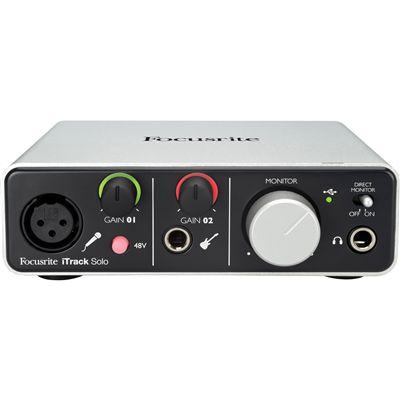 Interface De Audio Focusrite Itrack Solo Lightning