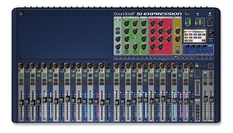 Mesa Som Soundcraft  Si Expression 3 - 32 Canais