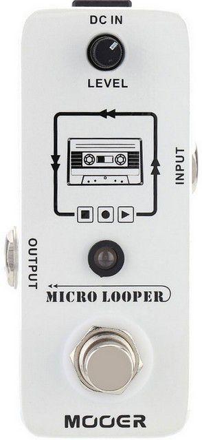 Pedal Guitarra Micro Looper Mooer Mlp1 True Bypass