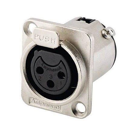 CONECTOR (PLUG) AMPHENOL 3 P FEMEA/PAINEL AC3FDZ