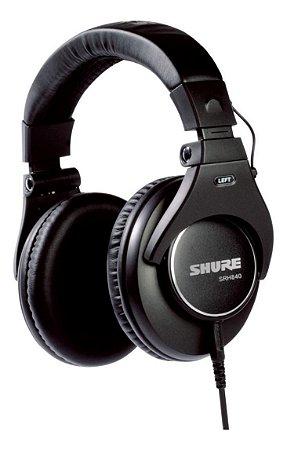 Fone De Ouvido Shure Srh840 Profissional - Srh 840