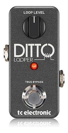 Pedal De Efeitos Tc Electronic Ditto Looper Mini