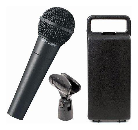 Microfone Behringer XM8500 cardióide preto - Original