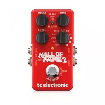 Pedal Tc Electronic Reverb - Hall Of Fame Reverb 2