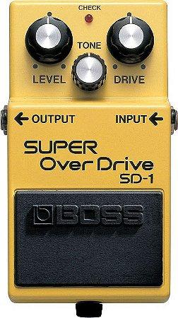 Pedal Boss Sd1 Guitarra Super Overdrive Sd-1