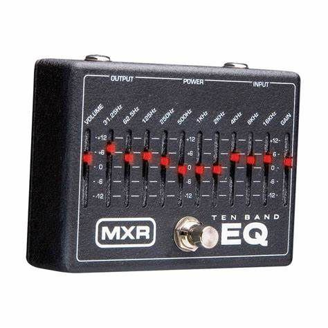 PEDAL MXR M108 TEN BAND EQUALIZER
