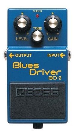 Pedal Boss Bd2 Guitarra Blues Drive - Efeito - BD 2