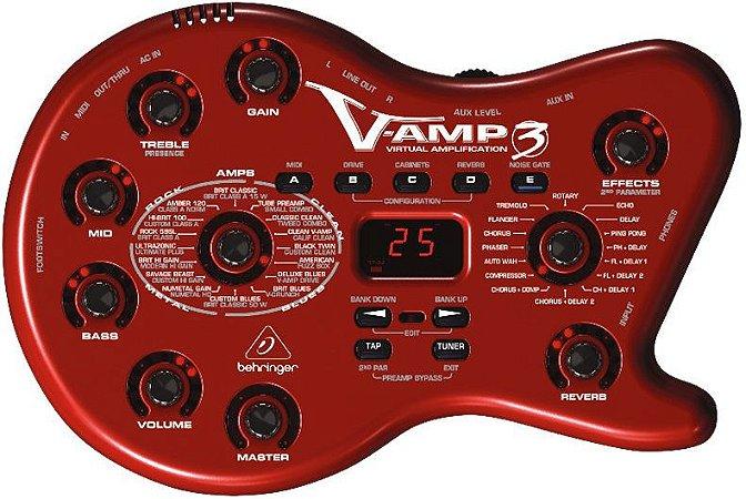Pedaleira Behringer V Amp Iii C/interface Sem Fonte