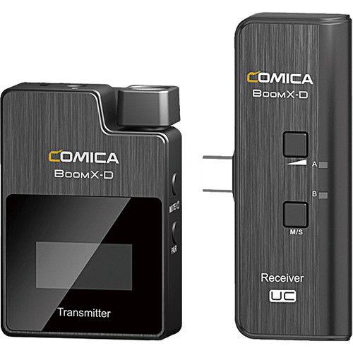 Sistema Microfone S Fio p/ Lapela Comica Boomx-d Uc1 Smartph