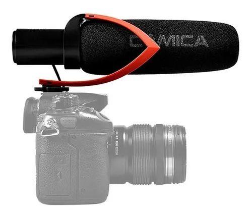 Microfone Shotgun Comica Cvm-V30 Pro condensador direcional
