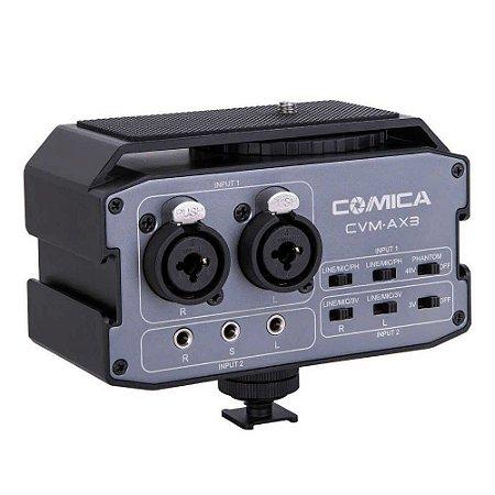 MULT INTERFACE COMICA MIXER AUDIO CVM-AX P/CAMERA /FILMADORA