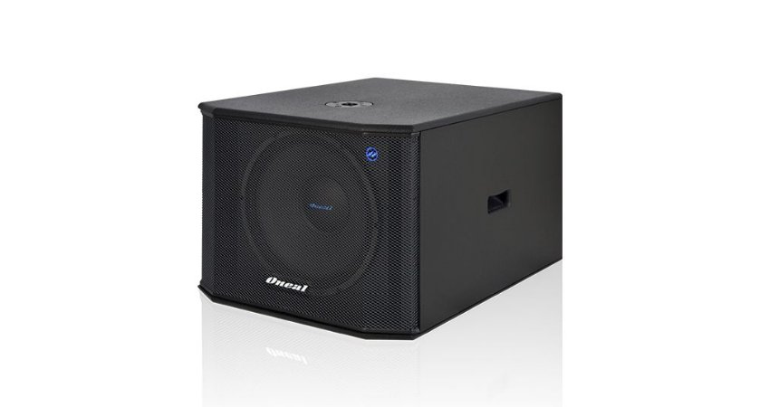 CAIXA SUB GRAVES ONEAL AMP 3215 PT/600W NBR. OPSB-3215