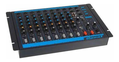 MESA DE SOM ONEAL 08 CANAIS P-10/XLR/USB - NBR.OMX-8 USB