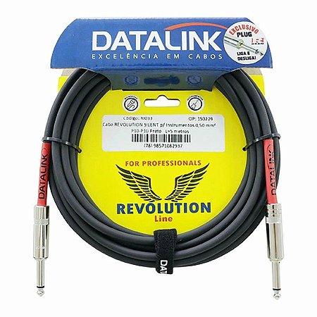 CABO DATALINK REVOLUTION p/ Instrumentos 0,50 mm2 P10 5m