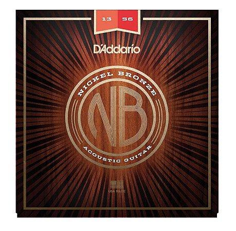 ENCORDOAMENTO DADDARIO VIOLAO ACO 013 NB1356