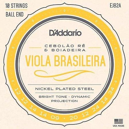 ENCORDOAMENTO DADDARIO VIOLA BRASILEIRA RE EJ82A