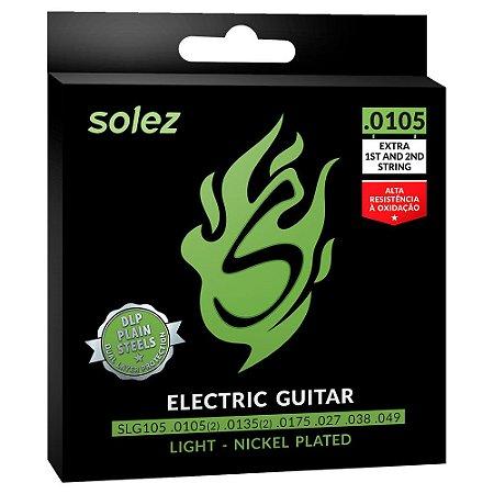 ENCORDOAMENTO SOLEZ GUITARRA 0.0105 - SLG105 -