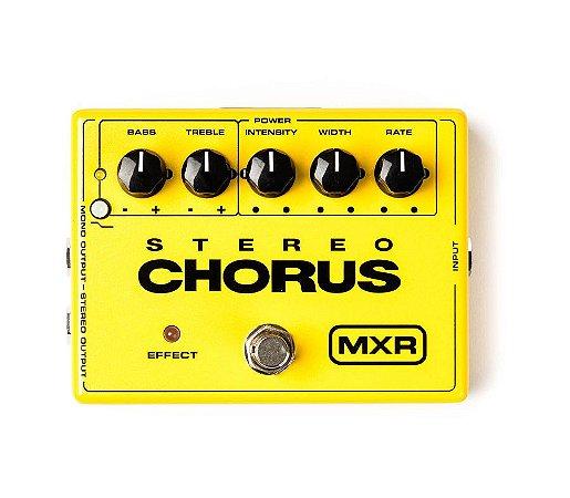 Pedal MXR Stereo Chorus Dunlop M134