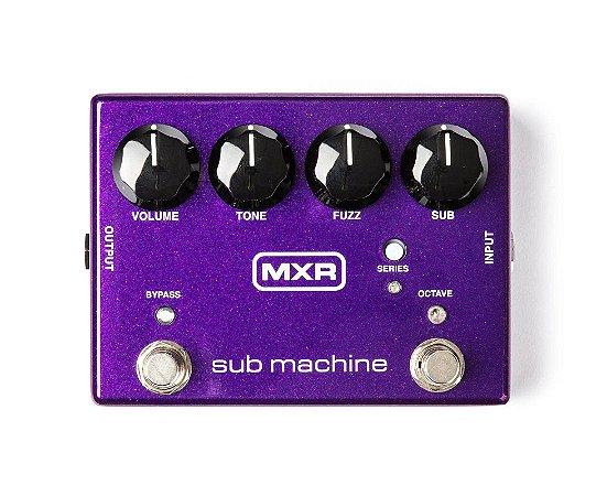 Pedal MXR Sub Machine Octave Fuzz Dunlop M225