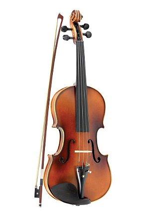 Violino 3/4 Vivace BE34S Beethoven Fosco C/Estojo