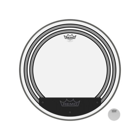 PELE 20 POL P/ BUMBO REMO PW-1320-00 POWERSONIC CLEAR