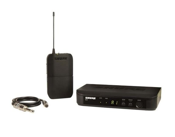 Transmissor Sem Fio Shure BLX Para Instrumentos BLX14BR-M15