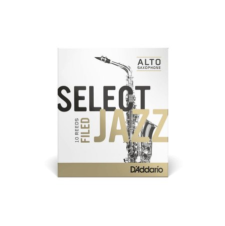 Palheta Daddario Select Jazz Sax Alto 2.0 RSF10ASX2S