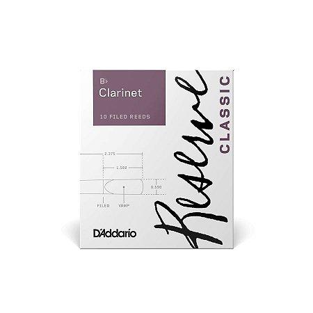 Palheta Daddario Reserve para Clarinete 2.0 DCT1020