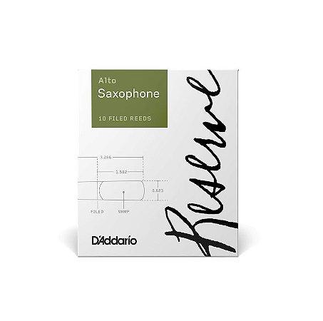 Palheta Daddario Reserve Sax Alto 2.0 DJR1020