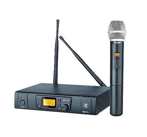 Microfone Staner SRW48S/HT-48 Mic Mão