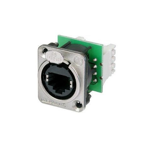 Conector Neutrik Painel Femea RJ45 IDC110 4MM NE8FDVY110
