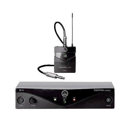 Transmissor Akg Perception Wireless Instrumental Pw45 Iset