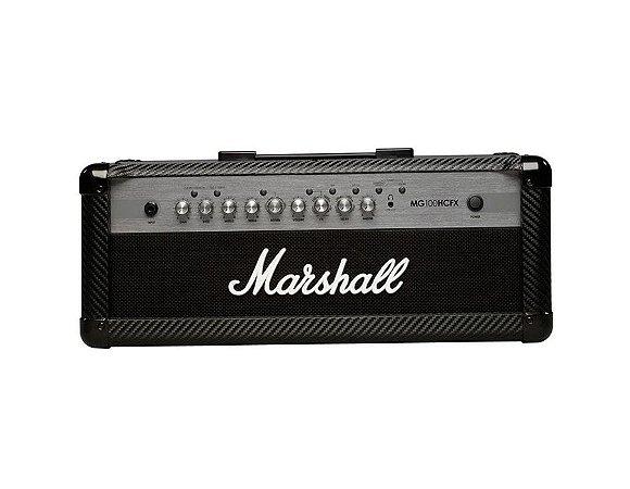 Cabeçote Marshall Para Guitarra 100w Mg100hcfx-b
