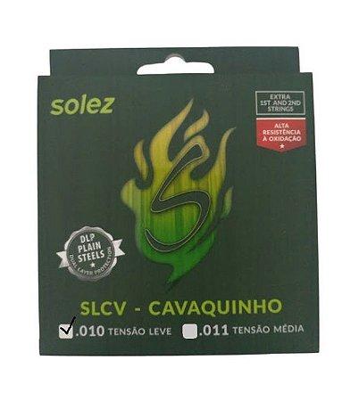 Encordoamento Corda Solez Cavaquinho SLCV 010 Tensão Leve
