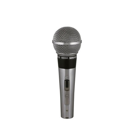 Microfone Clássico Shure Woodstock Para Vocal 565sd-lc