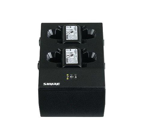 Carregador de Bateria Shure para Microfone SBC200-BR